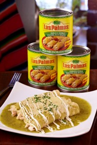 Swiss Enchiladas in Green Salsa LP