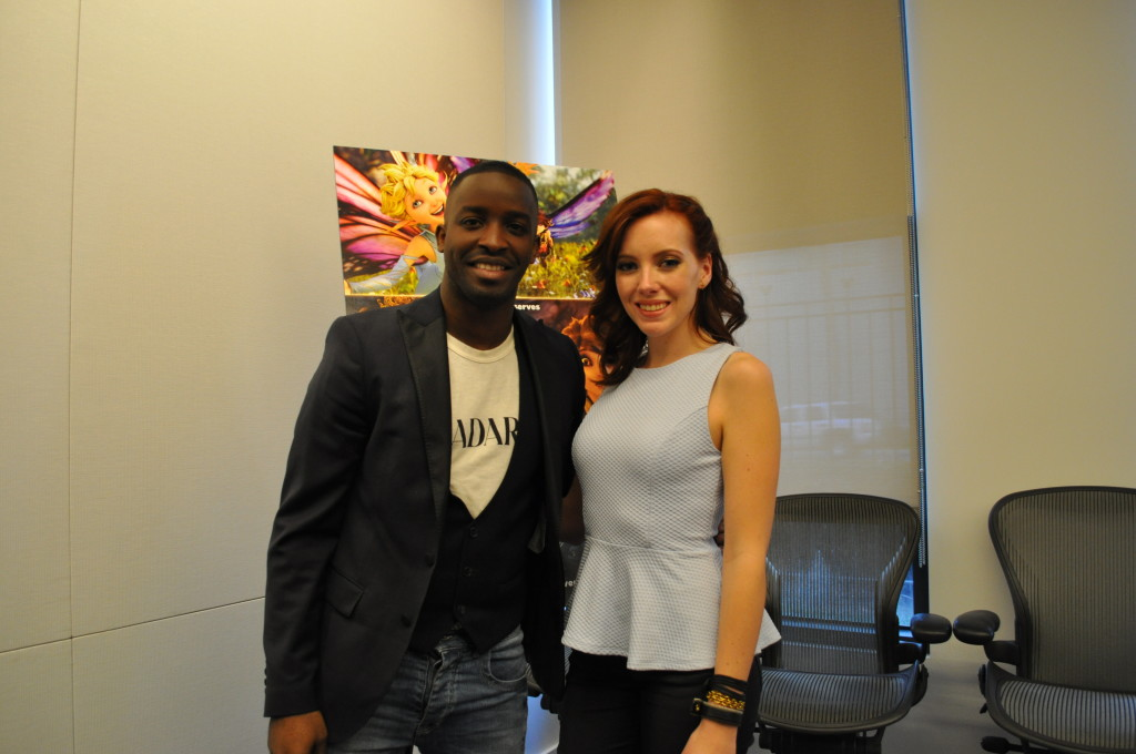 Entrevista con Elijah Kelley y Meredith Anne Bull, de 'Strange Magic'
