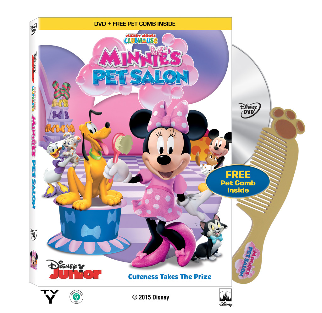 Sorteo de 'Mickey Mouse Clubhouse: Minnie's Pet Salon'