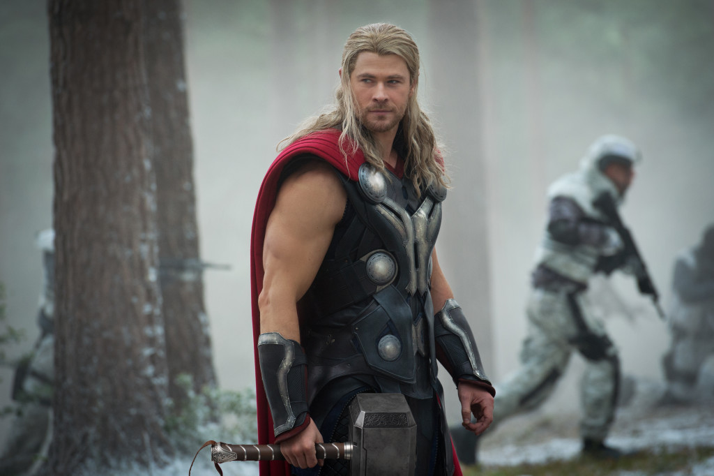 Chris Hemsworth en su papel del imparable Thor. Foto: Disney