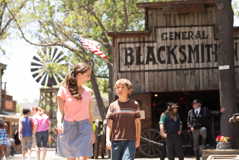 Ghost Town. Foto: Knott's Berry Farm