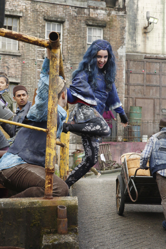 DESCENDANTS - Day 1. (DISNEY CHANNEL/Jeff Weddell) SOFIA CARSON