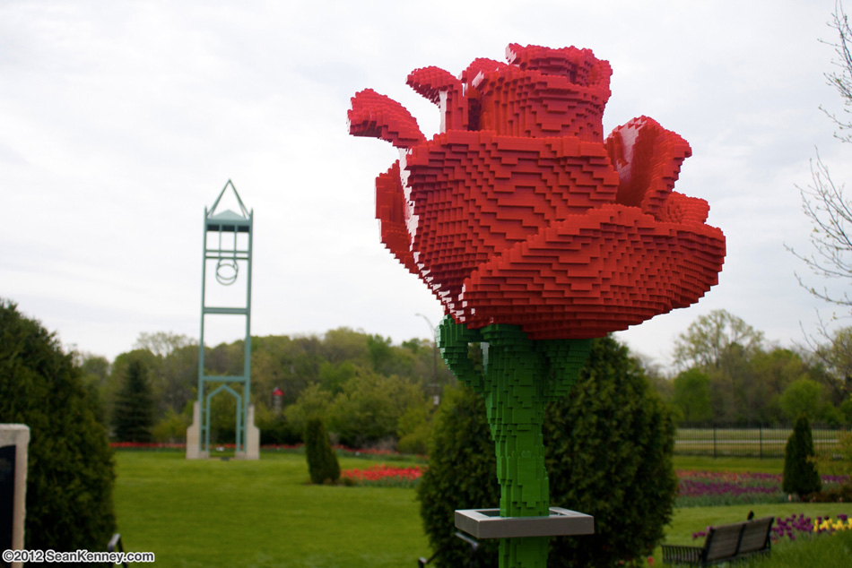 'Nature Connects' te trae esculturas gigantescas con Legos