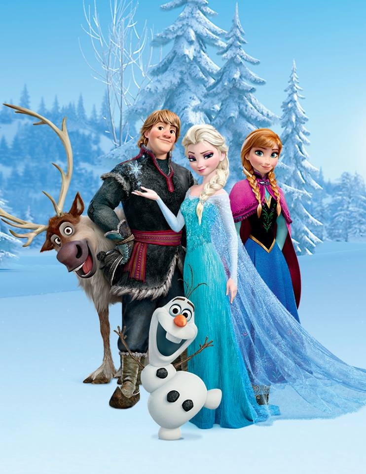 frozen musical en disneylandia