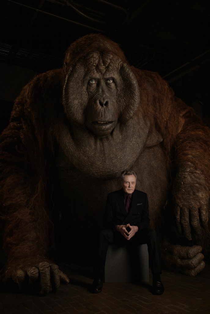 THE JUNGLE BOOK - King Louie es un mono gigante interpretado por Christopher Walken.