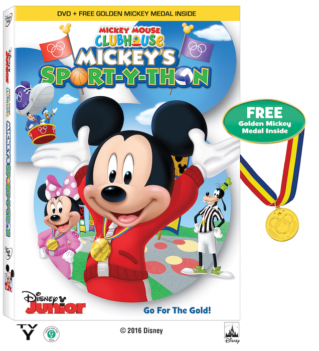 A ejercitar con 'Mickey Mouse Clubhouse: Mickey's Sport-Y-Thon'