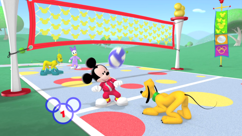 Mickey Mouse Clubhouse- Mickey's Sport-Y-Thon'