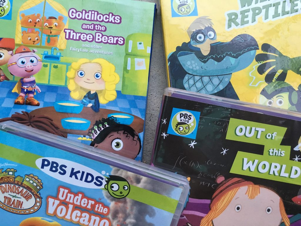 Estrenos DVD de PBS KIds