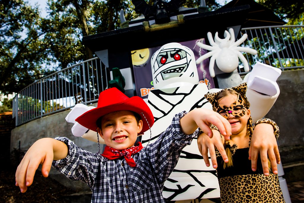 Brick or Treat Party Nights de Legoland divierte 'horrores'