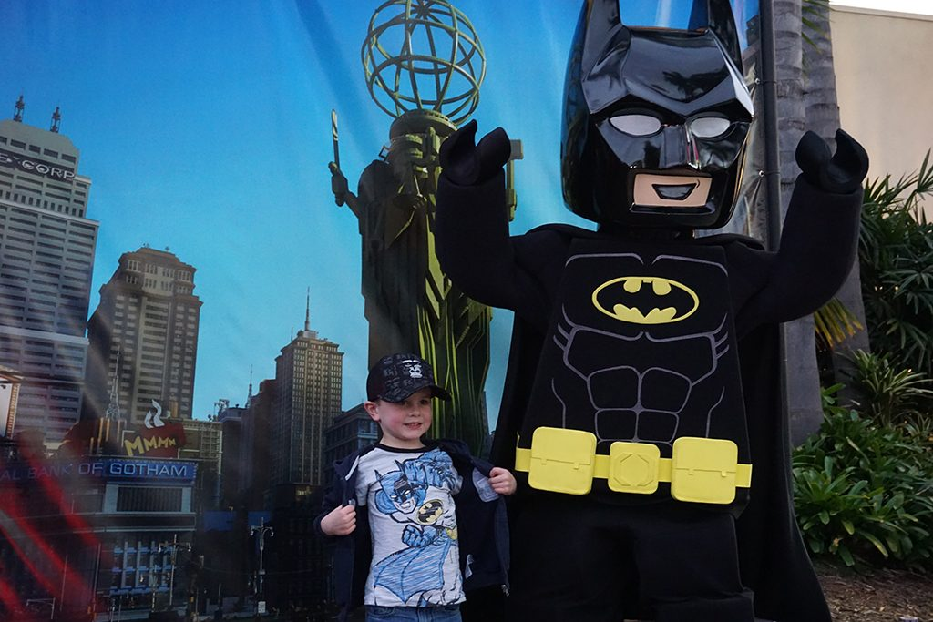 Legoland celebra al Hombre Murciélago en los Lego Batman Movie Days