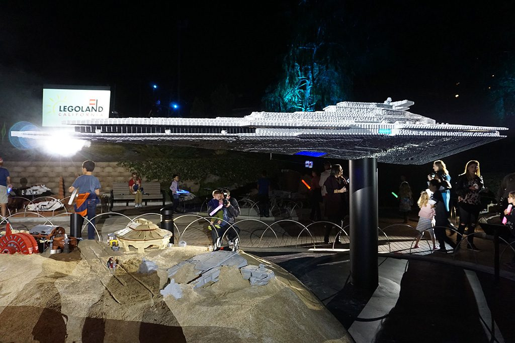 Lego Star Wars: The Force Awakens invade Miniland de Legoland