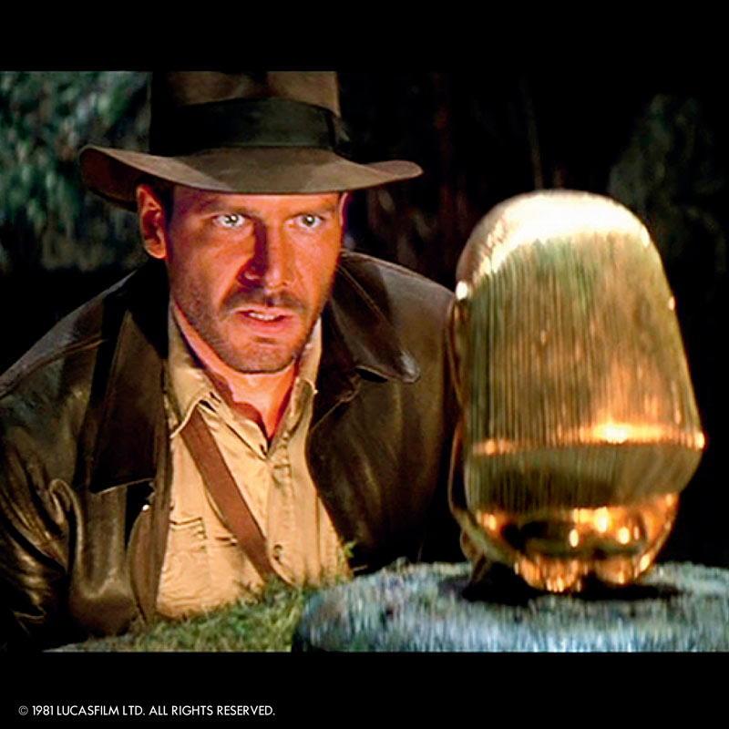 Buscadores del arca perdida en el Hollywood bowl
