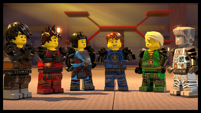 Lego Ninjago movie 4d
