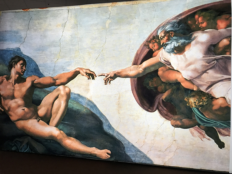 'Up Close: Michelangelo's Sistine Chapel' a la altura de tus ojos