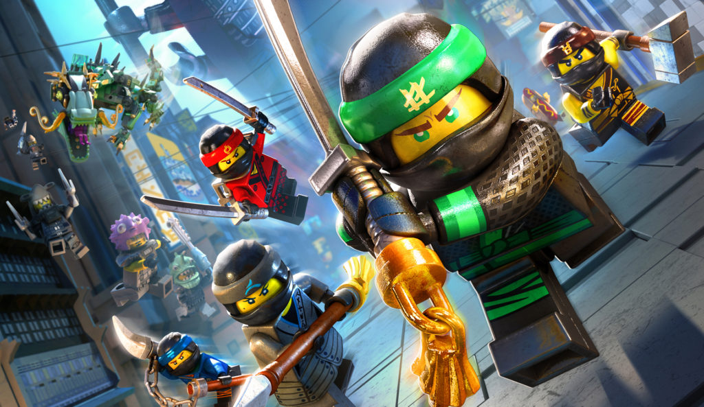 'The Lego Ninjago Movie' ya está disponible en todos los formatos