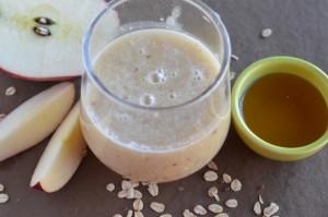 Jugo de Manzana, Cereales y Miel