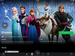 Este es un nuevo servicio digital basado en la nube en el que puedes guardar, comprar, buscar y ver todas las películas de Disney, Pixar y Marvel.