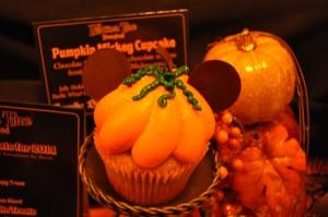 Pumpkin Mickey Cupcake. Foto: Ser mamá latina