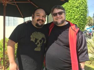 """Jorge Gutiérrez (izq.) y Guillermo del Toro hicieron mancuerna en """"The Book of Life"""". Foto: Victoria Infante"""