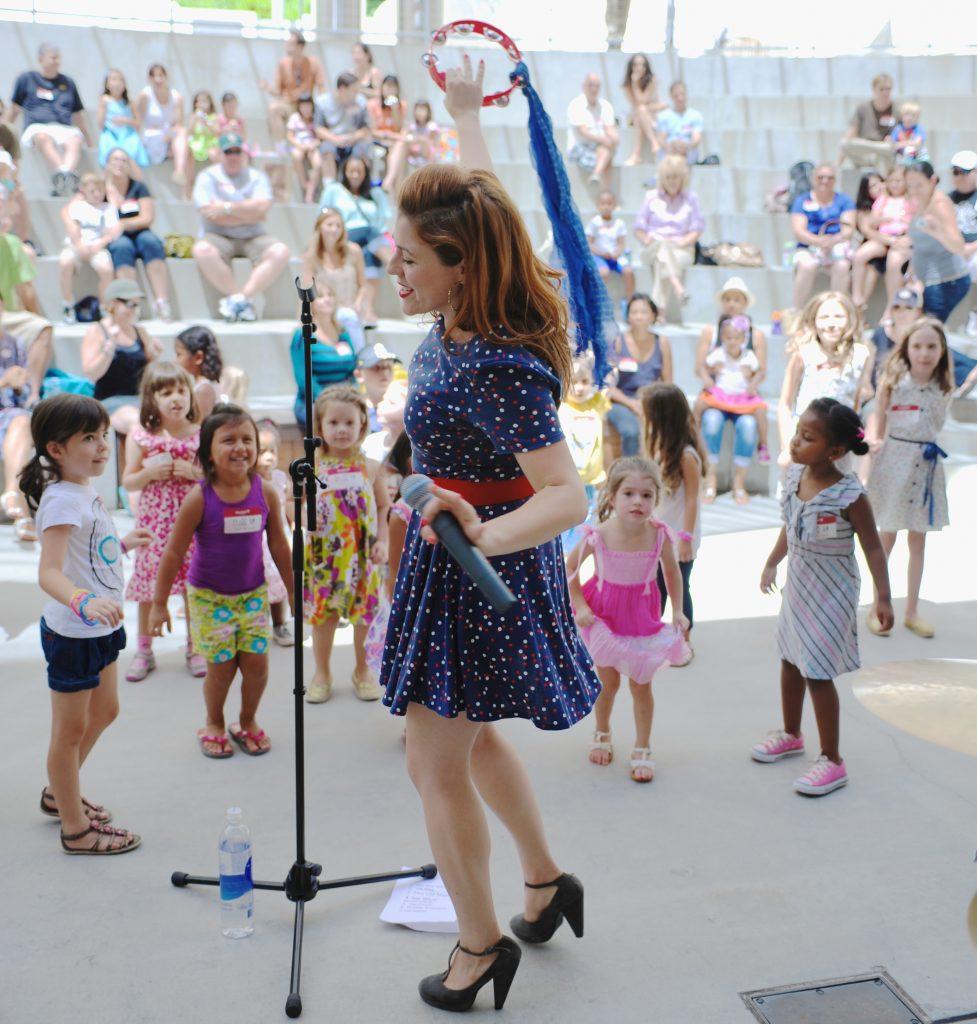 Lucky Diaz and the Family Jam Band. Foto: Bonnie Perkinson. Cortesía del Skirball Cultural Center