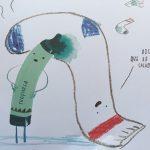 el dia que los crayones regresaron a casa color turquesa