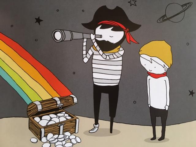 Ivo y la zanahoria arcoiris