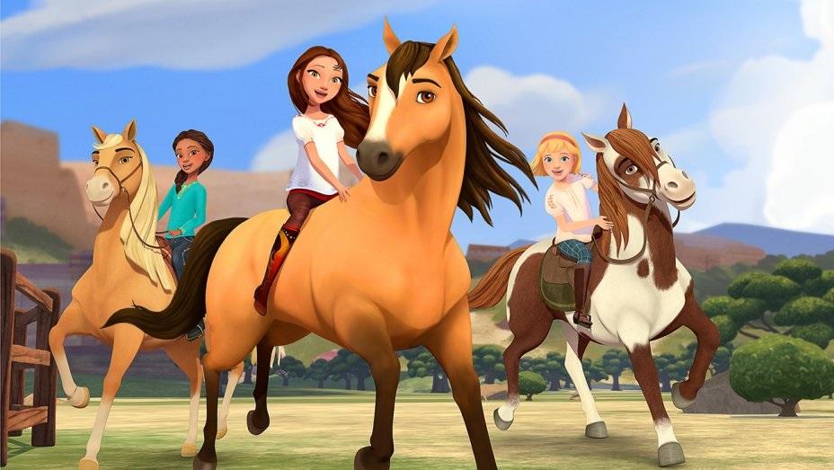 Sprit Riding Free se transmite en Netflix.