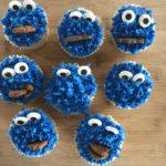 cupcakes Cookie Monster