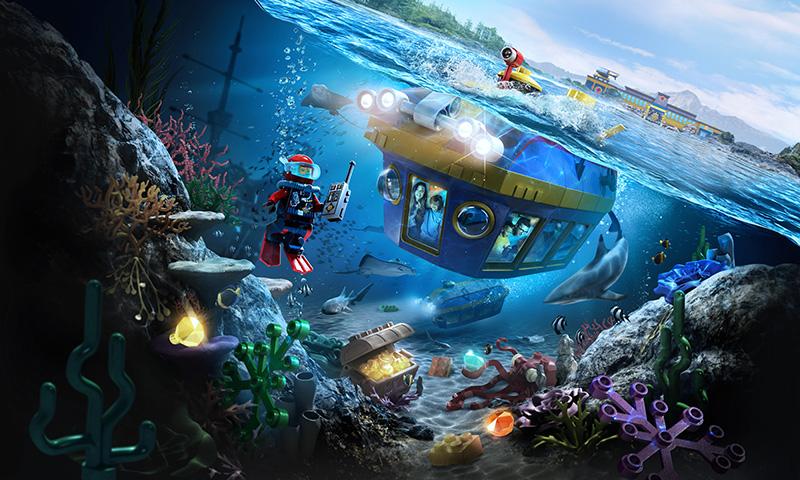 Legoland Deep Sea Adventure