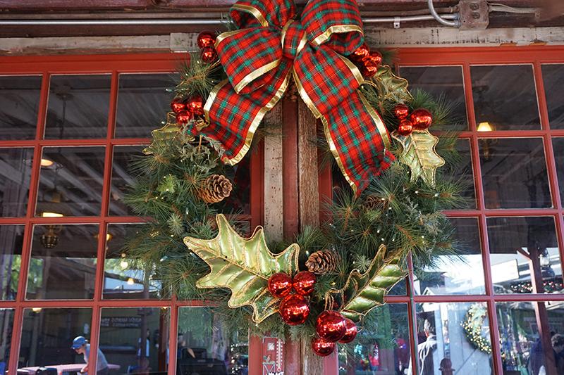 Navidad en Knotts Berry Farm.