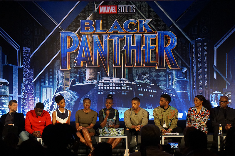 black panther conferencia