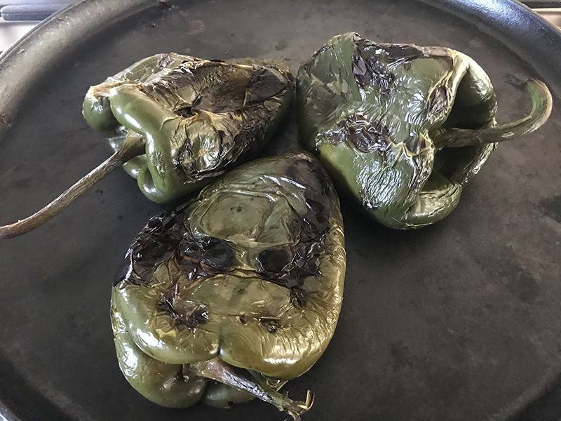 chiles asados - Ser Mamá Latina